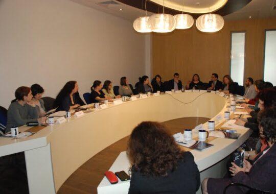 Profesori de la licee economice din trei judete, intalnire cu universitarii ULBS