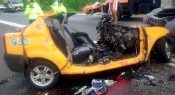 Accident cumplit in Prahova. Doi sibieni au murit striviti de un TIR