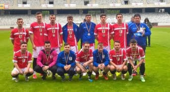 Studentii sibieni, vicecampioni nationali universitari la fotbal