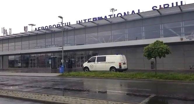 femeie injunghiata pe aeroportul sibiu