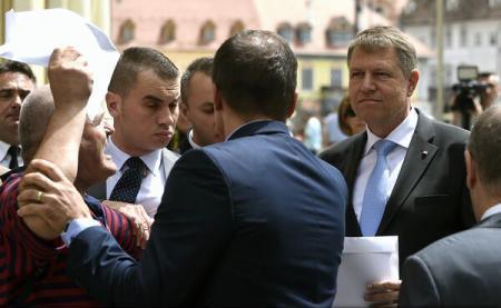 """""""Atacatorul"""" de la Sibiu, un barbat cu antecedente. Iohannis a scapat ieftin!"""