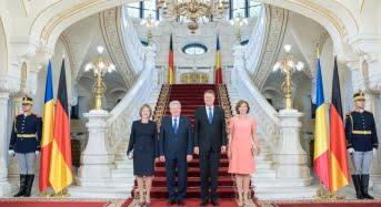 Iohannis, ghid pentru presedintele Germaniei. Ce face Joachim Gauck la Sibiu!