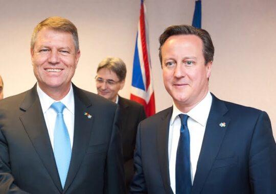 Iohannis, intalnire cu David Cameron. Ce i-a spus englezul despre romanii care muncesc in Marea Britanie