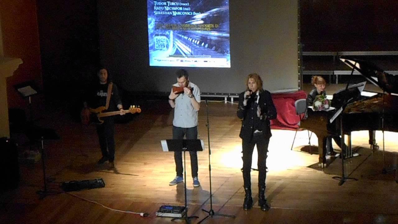 Experiment muzical la Sibiu. Rock si pian pe scena Salii Thalia