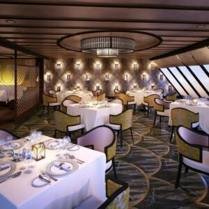 The Seven Seas Explorer - chartreuse-garden-view