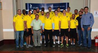 CSU Sibiu și-a prezentat lotul la ULBS. Ce mesaj au primit din partea rectorului Ioan Bondrea