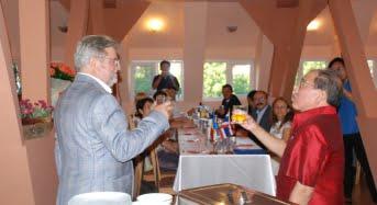 Donatie de carti si Festival al bucatariei thailandeze, la ULBS