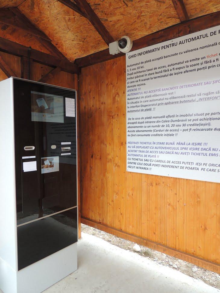 automat tichet bariera cimitirul municipal sibiu