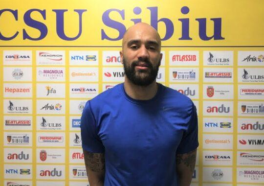 "BC CSU Sibiu si-a adus jucator de ""nationala"""