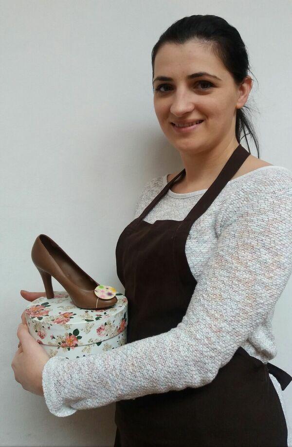 andreea budulan - pantofi de ciocolata