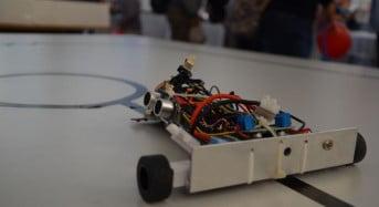 Concurs de roboti mobili la ULBS
