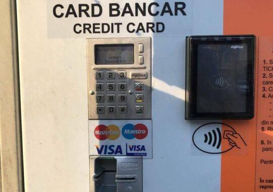 Primaria Sibiu introduce plata cu cardul in doua parcari din centru
