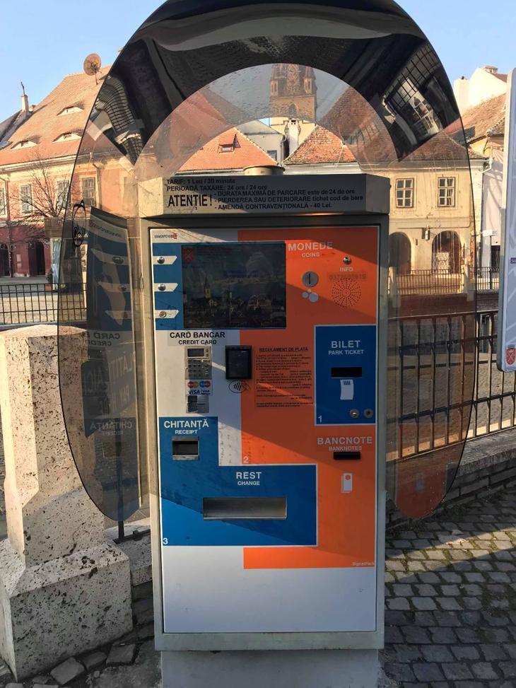 plata cu card parcare Sibiu2